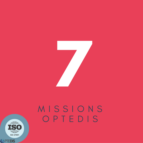 7 missions Optedis